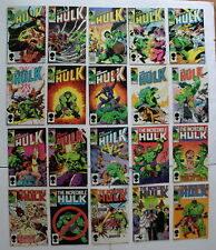 INCREDIBLE HULK 1968-99 1st Hulkbusters II Bi-Costal Avengers BYRNE #301-320 VF