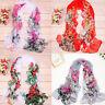 Fashion Women's Long Soft Wrap Lady Shawl Silk Chiffon Scarf Scarves USWarehouse
