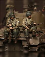 1/35 Escala Kit de modelo de resina Segunda Guerra Mundial U.S. Army en el aire en Sherman. #3