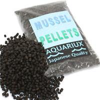 Aquariux Bloodworm shrimp mussel pellets high grade fish food sinking