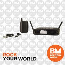 SHure GLXD14 Wireless Digital Lavalier Lapel Microphone 2.4GHz & WL185 Mic