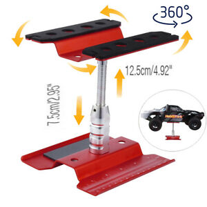 360° Rotate Work Stand Repair Workstation For 1/8 1/10 RC Car Trucks Vehicles