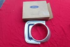 1968-70 Ford Falcon headlight bezel, RH, NOS! headlamp door C8DZ-16064-A