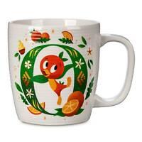 Disney Parks ABC Letters O is for Orange Bird Ceramic Coffee Mug New