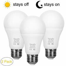 Dusk to Dawn Light Bulb Sensor Smart LED Outdoor Lighting Bulbs Lamp 7W E26/E27