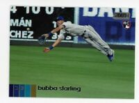 2020 Topps Stadium Club #275 BUBBA STARLING Kansas City Royals PHOTO Rookie Card