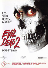 EVIL DEAD 2 / Dead By Dawn - Bruce Campbell DVD R4 - PAL