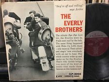 The EVERLY BROTHERS 1st self titled s/t Cadence CLP-3003 plays a strong VG