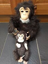 FURREAL FRIENDS NEWBORN CUDDLE CHIMP MOTHER & BABY INTERACTIVE TOY