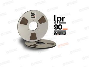 "RTM Recording The Masters LPR90 R38520 Tonband 1/4"" 6,3mm 1100m NAB-Metallspule"