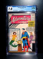 COMICS: Adventure Comics #280 (1961), 1st Superboy/Lori Lemaris meet - CGC 7.0