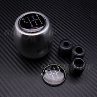 5 & 6 Speed Manual Car Gear Stick Shift Knob Silver for  Chevrolet for Toyota