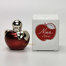 Mini Perfume Nina Ricci NINA L'ELIXIR Eau de Parfum 4 Ml 0.13 Oz Miniature NIB