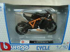 MOTORRAD MINIATUR KTM 1190 RC8 R 1/18 EN BOITE B BURAGO