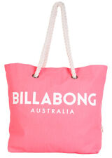 """BRAND NEW + TAG BILLABONG LARGE BEACH BAG S GYM TRAVEL """"ESSENTIAL"""" PINK CORAL"""