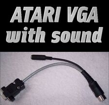 NEW Atari 520 1040 ST STE VGA high resolution monitor adaptor sound cubase C-LAB