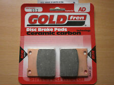 KAWASAKI ZXR 750 (89-96) > SINTERED CERAMIC REAR BRAKE PADS < ZXR750 . (AD053)