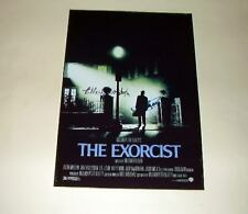"THE EXORCIST CAST X2 PP SIGNED 12""X8"" POSTER HORROR"