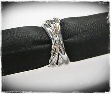 NEU 19mm/60 TRIPLE RING farbe silber DREIER RING Damenring FINGERRING