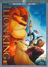 The Lion King (Two-Disc Diamond Edition Blu-ray / DVD Combo in DVD Packaging), D