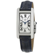 Cartier Tank Americaine Automtic Silver Dial Ladies Watch WSTA0017