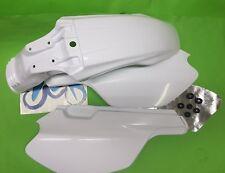 - Yamaha Belgarda TT600S TT600E TT Fender Schutzblech weiß Seitenverkleidungen