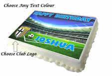 Any Football Club Badge A4 Edible Cake Topper