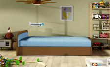 Moderne Lit D'Enfant Lits Tissu en Bois Canapé pour Dormir Chambre D'Enfants
