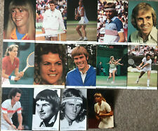 14 Vintage Tennis Postcards and Pictures
