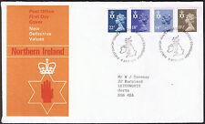 Northern Ireland Definitive Values 1st Day Cover 8th April 1981 ni34 Edinburgh