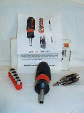 GREAT NECK 17 IN 1 RATCHETING SCREWDRIVER #33348