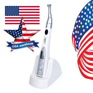 Dental Wireless Mini Endo Motor Treatment 16:1 Reduction Contra Angle