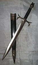 "13-1/2"" Skull Dagger with Scabbard - Renaissance/Midieval - Modern - ""NEW"""