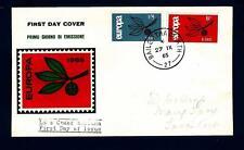 IRELAND - IRLANDA - 1965 - Europa - Ramo con tre foglie e lettere CEPT - (E)