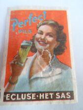 Etiquette allumette - BIERE - ECLUSE - HET SAS - PERFECT PILS - Belgium - (85)