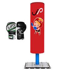 JPI Kids/Children Boxing Free Standing Punch Bag Boys/Girls gloves