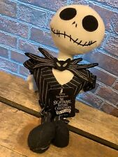 Nightmare Before Christmas JACK SKELLINGTON Squeaky Dog Toy NEW 12""