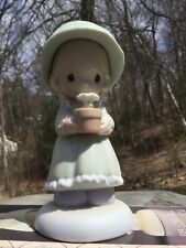 """Precious Moments 1989 Special Easter Seals Figurine """"His Love Will Shine On You�"""