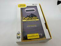 OtterBox Defender Samsung Galaxy S10+ Plus Rugged Case + Belt Clip Nebula Purple