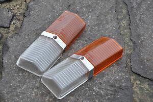 Fiat 125 Blinker Frontscheinwerfer Standlicht  Gläser 1 Paar links rechts Oldtim