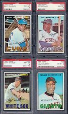 PSA 8 1967 Topps #315 Billy Williams Chicago Cubs HOF'er