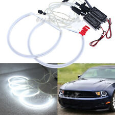 2x CCFL Halo Rings For Ford Mustang 05-12 Non Projector Headlight LED Angel Eyes