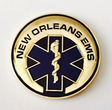 NEW ORLEANS EMERGENCY MEDICAL EMS EMT PARAMEDICS CHALLENGE COIN NIGHTWATCH NOPD