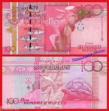 SEYCHELLES ISLAS 100 rupees rupias 2011 2013 Pick 43b  SC  / UNC