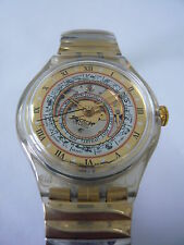 SAK114 Swatch - 1994 Automatic Serti Misterieux Swiss Made Authentic