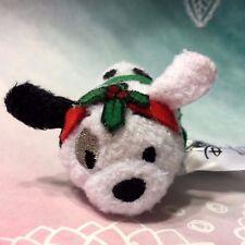 Disney Tsum Tsum Micro Mini Plush 2017 Advent Calendar Patch Under Mistletoe