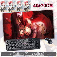 40*70cm Anime Overlord Albedo Play Mousepad Cosplay Big Mouse Mat Gift #Gt118