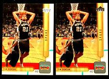 TIM DUNCAN ~ 2001 UPPER DECK #149  ~ 2 CARDS  ~ NBA HALL OF FAME INDUCTEE
