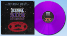 Rush - 2112 In Concert - Limited Edition Violet Vinyl LP - Import - UK, 2015