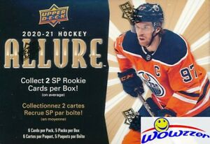 2020/21 Upper Deck ALLURE Hockey EXCLUSIVE HUGE Factory Sealed Blaster Box!